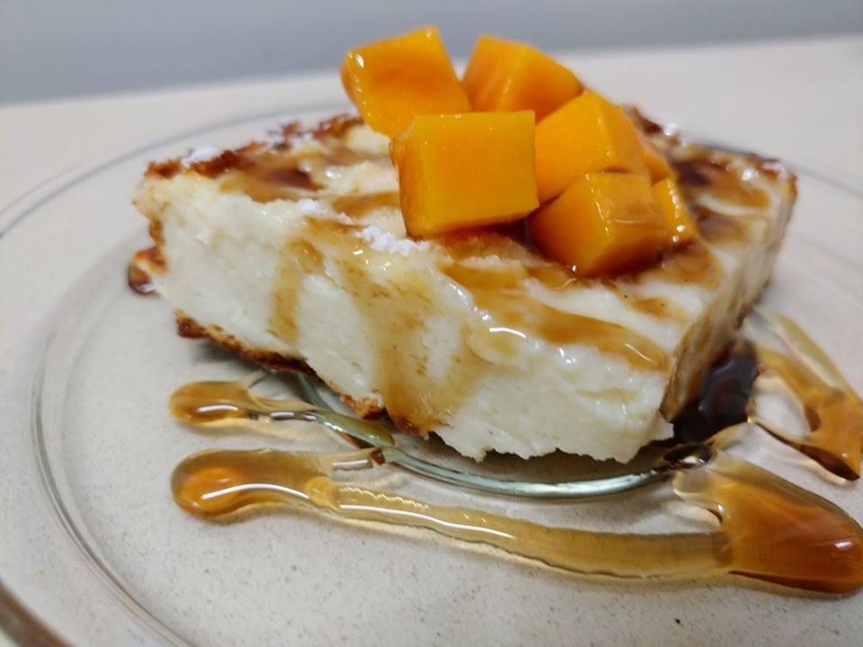עוגת גבינה בחושה קלה וטעימה
