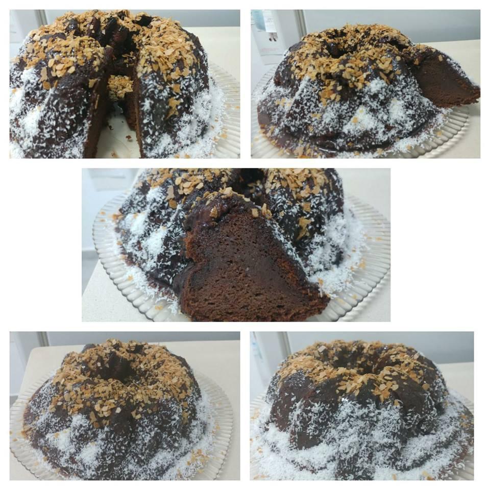 עוגת שוקולד בחושה וטעימה