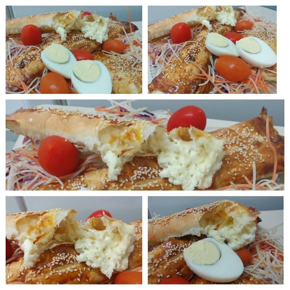 בצק פילו עם גבינות