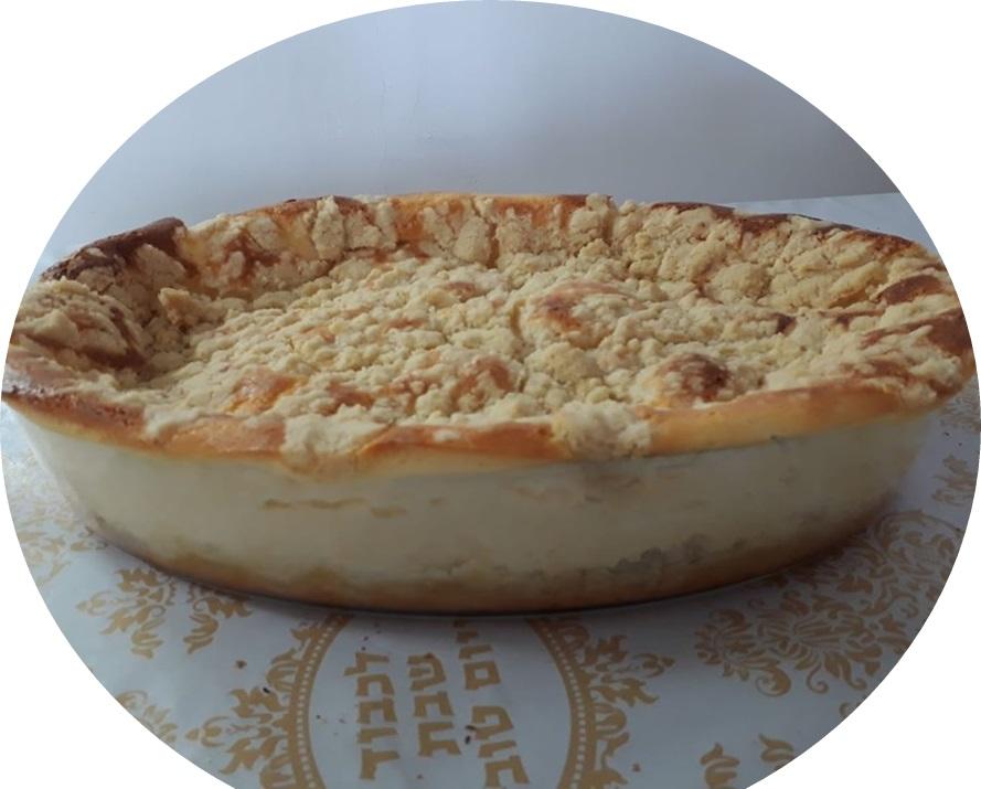 עוגת גבינה ושטרויזל