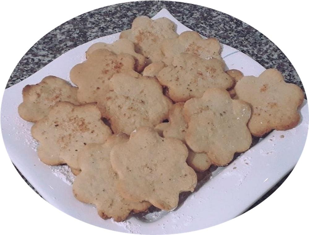 עוגיות חמאה וקוקוס קריספיות