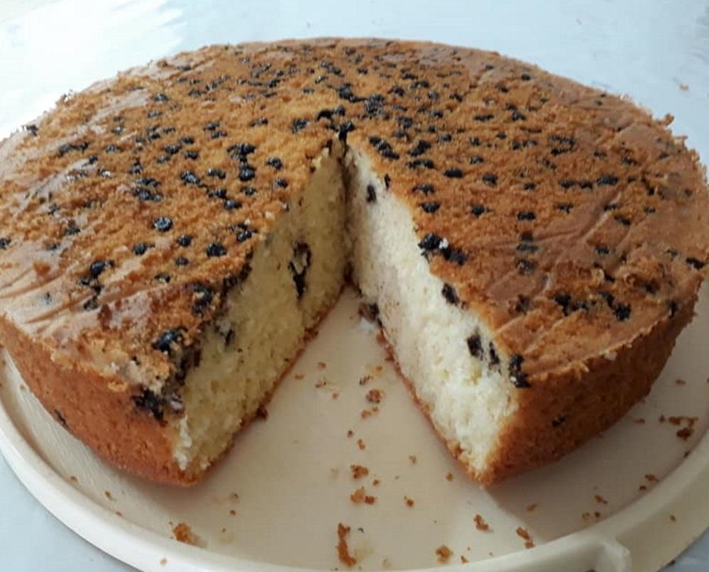 עוגת תפוזים בתוספת קוקוס ונטיפיי שוקולד
