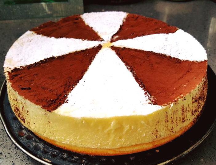 עוגת גבינה מ 3 מרכיבים בלבד