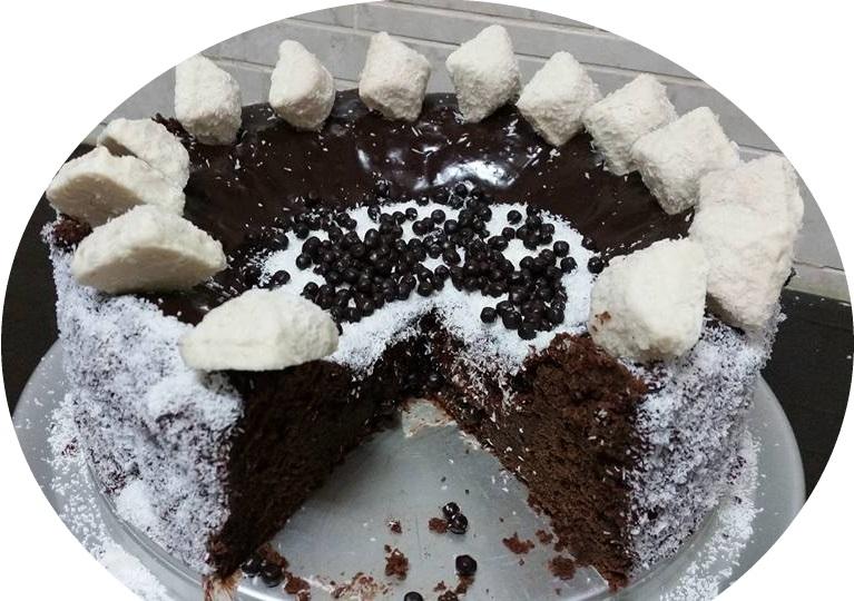 עוגה שוקולדית עם סלק