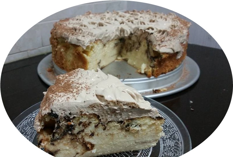 עוגת גבינה שקדים וקפוצ'ינו כשרה לפסח