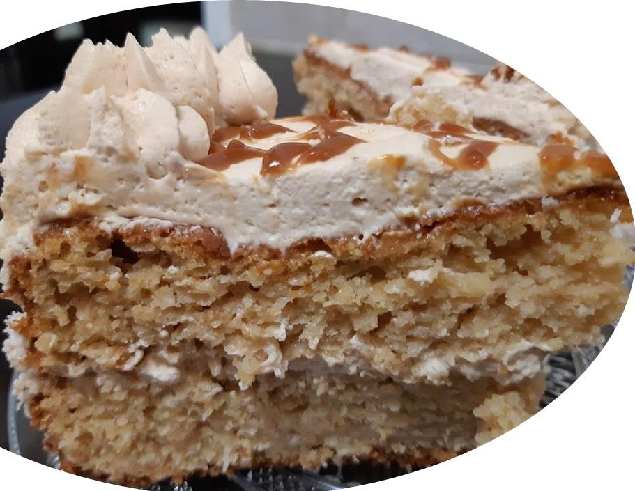 עוגת גבינה, קוקוס וריבת חלב,בחושה