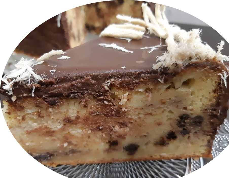 טורט גבינה במילוי חלווה וחטיף מרס