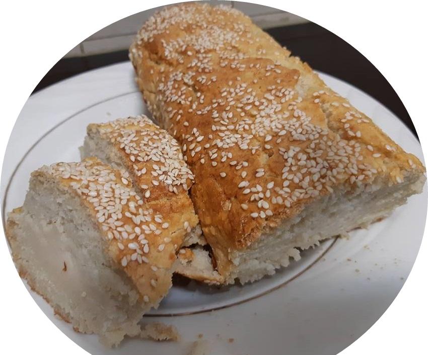 לחם אורז ללא ביצים