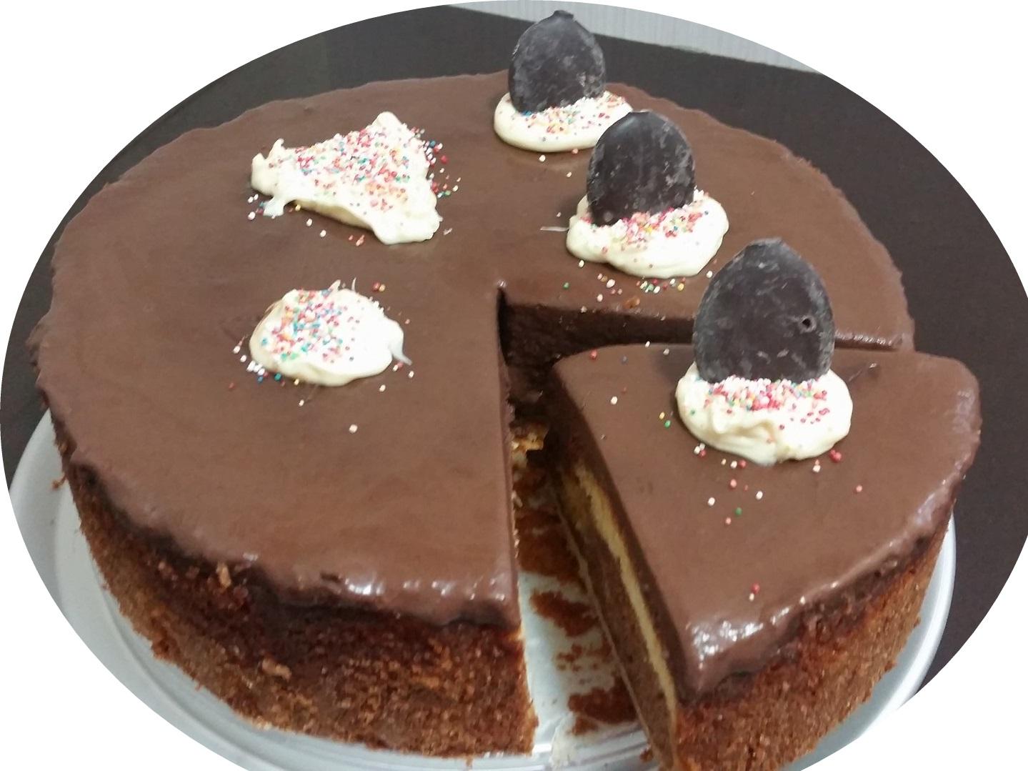 עוגת שיש, וניל, קינמון ונוטלה