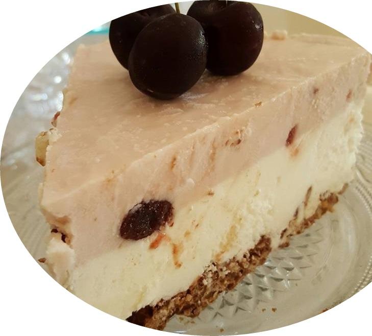 עוגת גבינה מוס מרשמלו קרה
