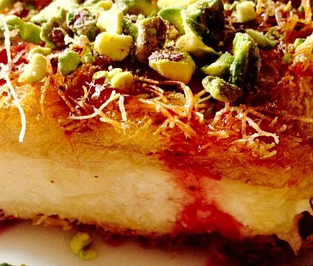 עוגת קדאיף ללא גבינה. פצצה טעימה