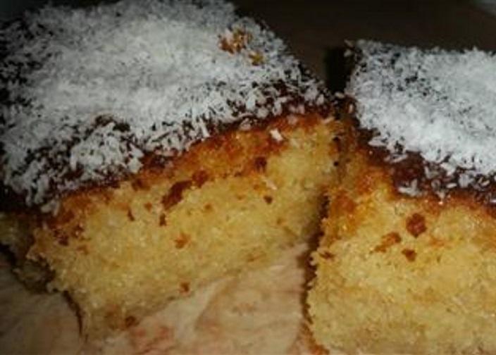 עוגת סולת קלה ,טעימה ונימוחה