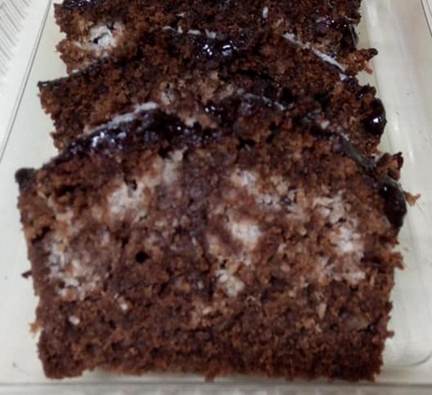 עוגה שוקולד קוקוס