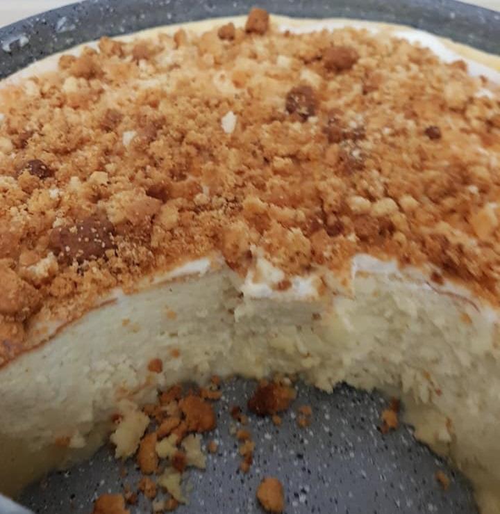 עוגת גבינה מעלפת כמו ענן