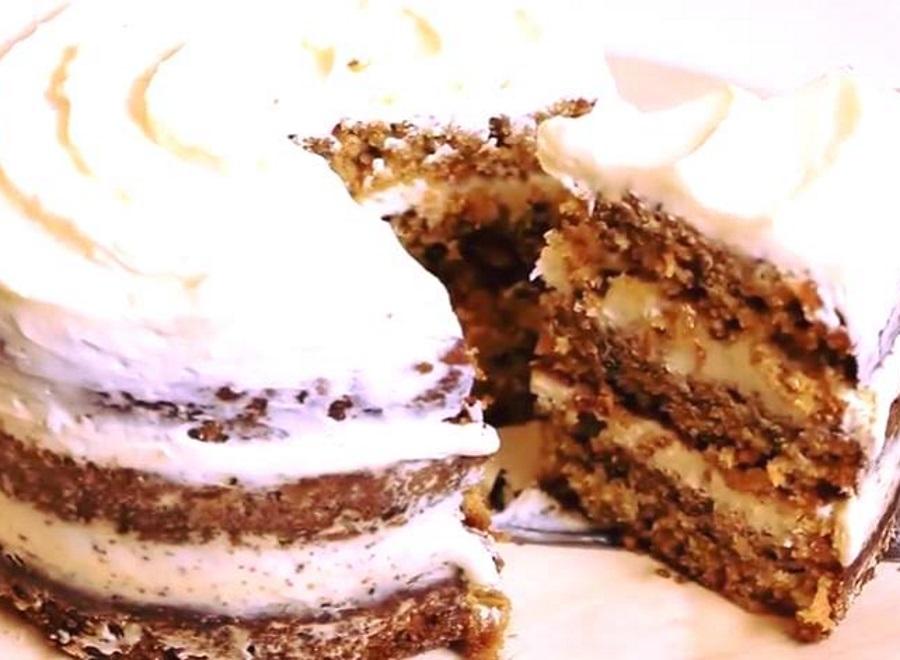 עוגת גזר מדהימה של סטראבקס