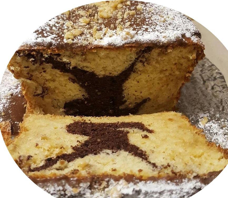 עוגת שיש שוקולד