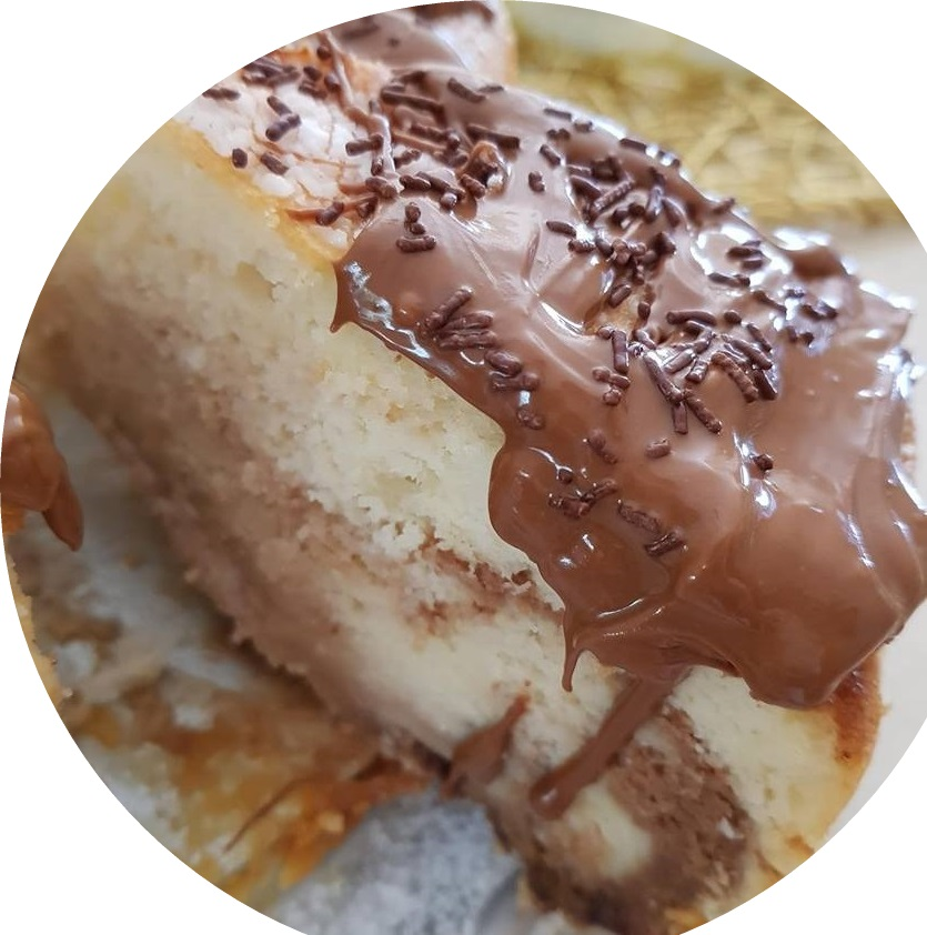 עוגת טורט גבינה ושוקולד