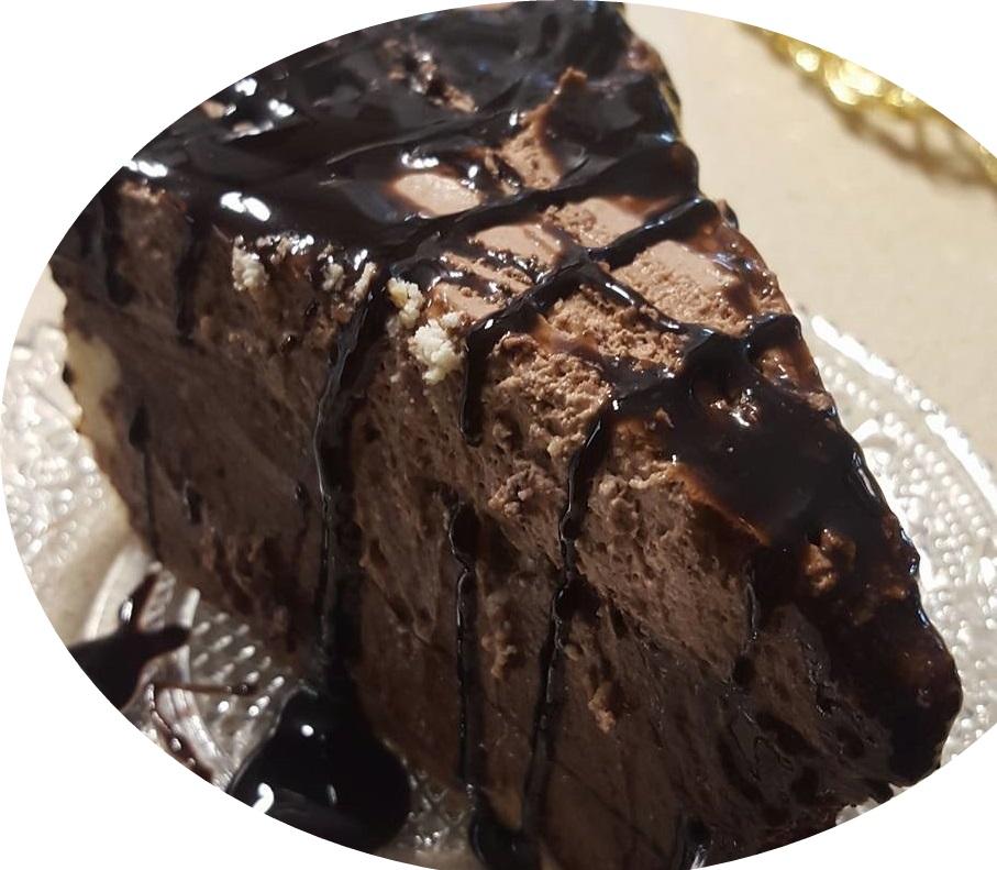 גבינקולדה -עוגת גבינה אפוה שוקולדית