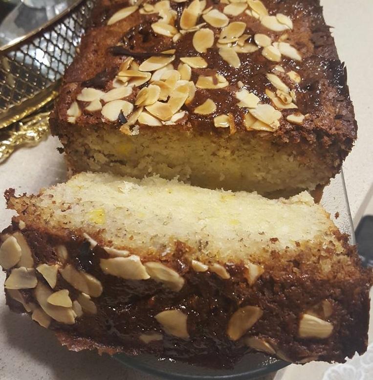 עוגת בננות עם קוקוס ורום