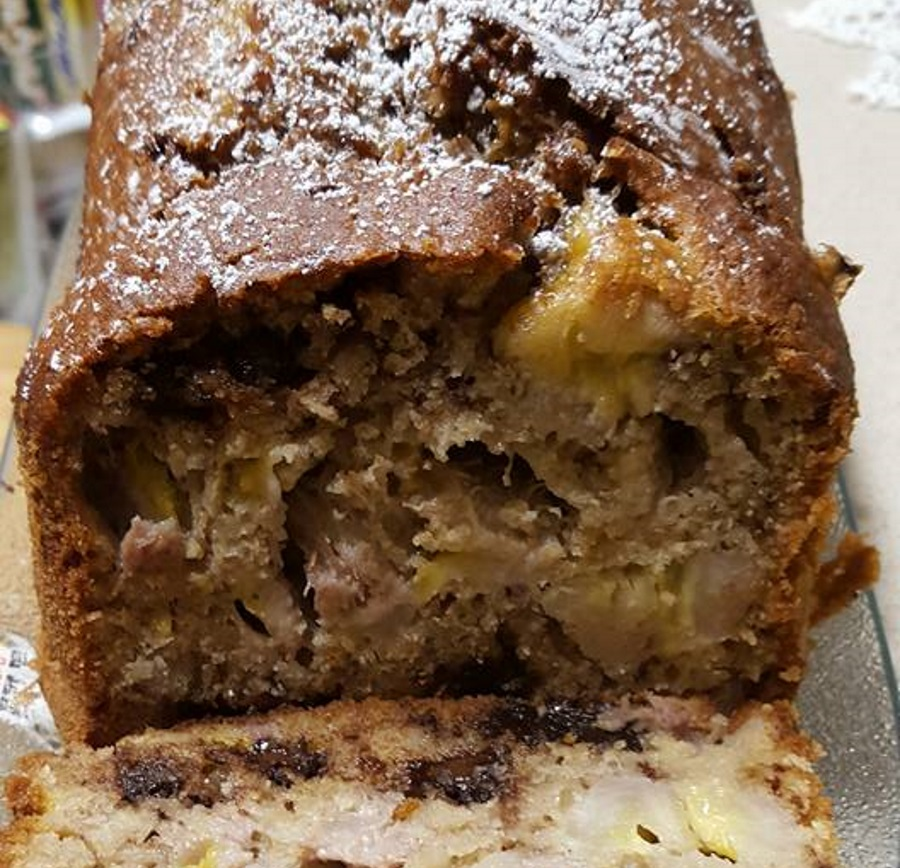 עוגת משקה בטעם מוקה קוקוס ובננות