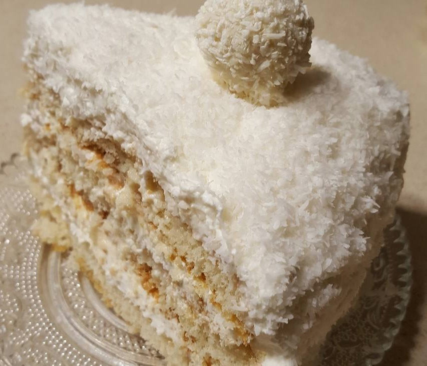 עוגת רפאלו מענגת