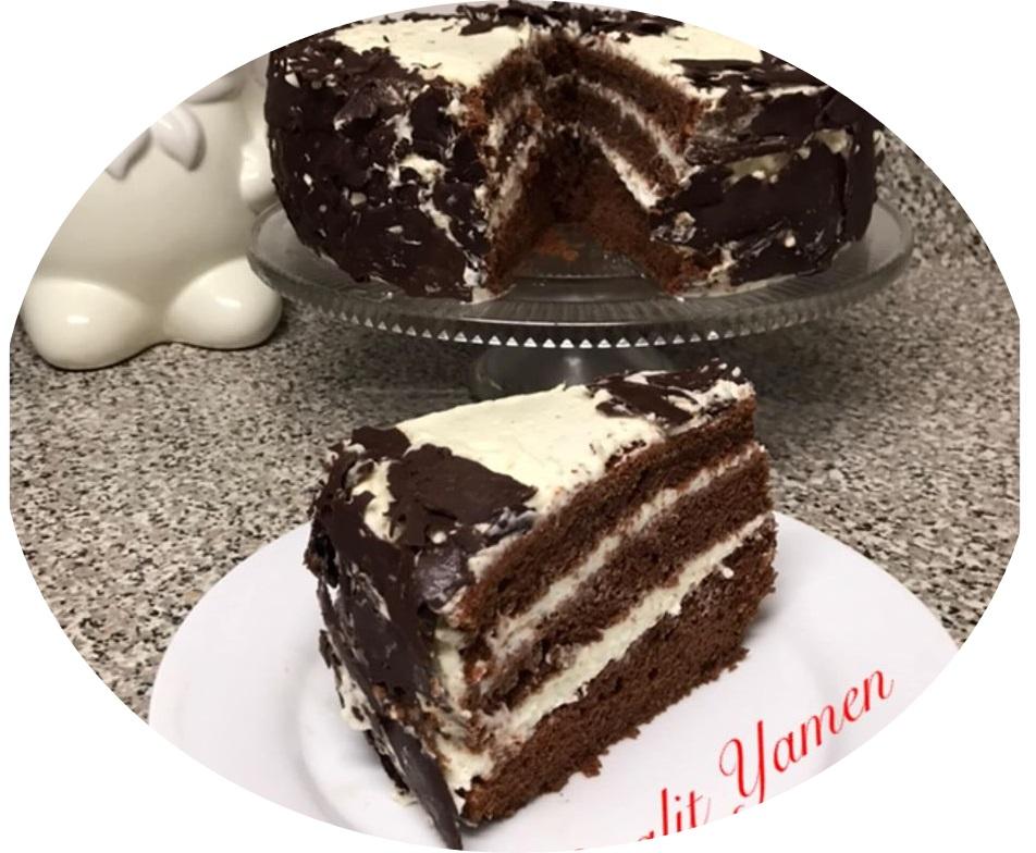 עוגת השוקולד שלי לא יכול להיות יותר טעים מזה
