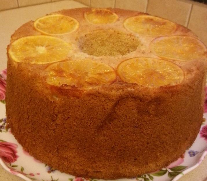 עוגת תפוזים ולימונים רכה וטעימה