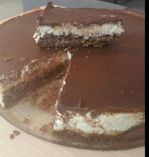 עוגת גבינת שמנת ושוקולד מדהימה