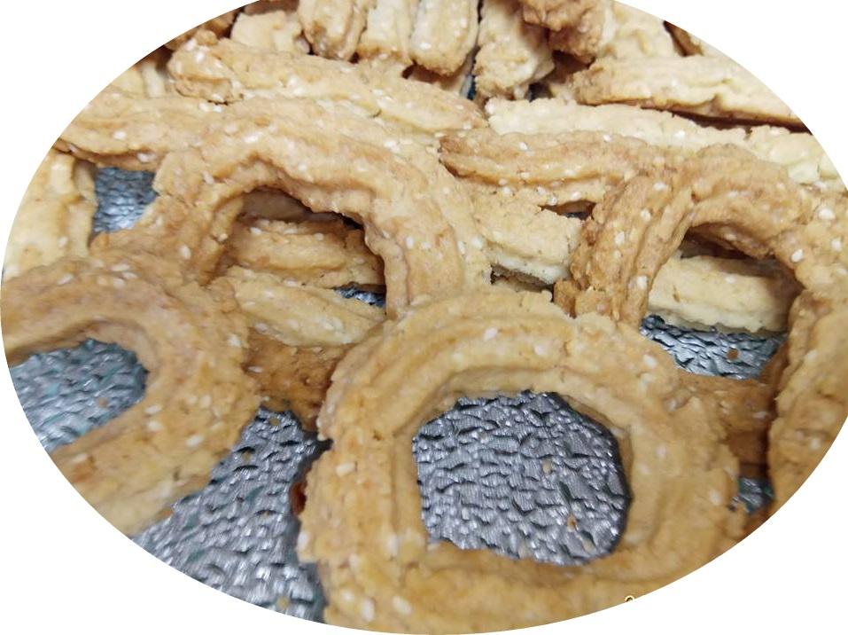 עוגיות מרוקאיות פריכות הכנתי בעזרת צנטר