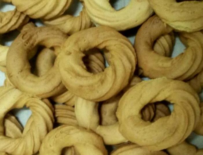 עוגיות תה מתוקות  עם אמוניאקה