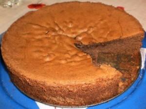 עוגת בראוניס שוקולד