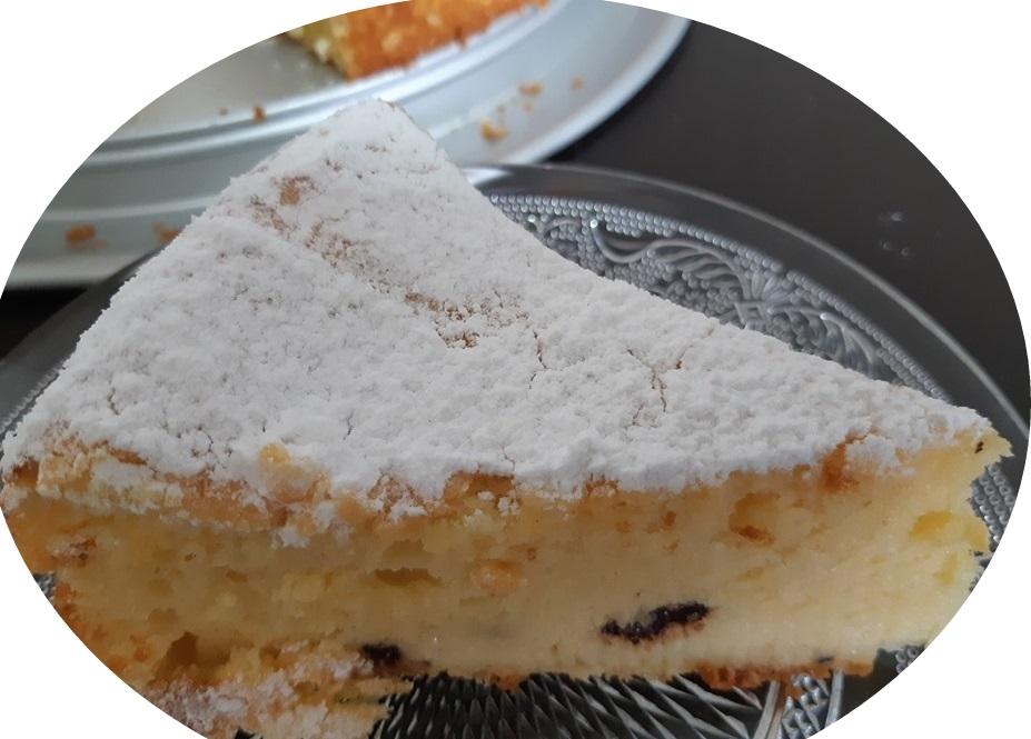 עוגת וניל,לימון וריקוטה
