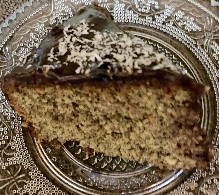 עוגת קוקוס ופרג